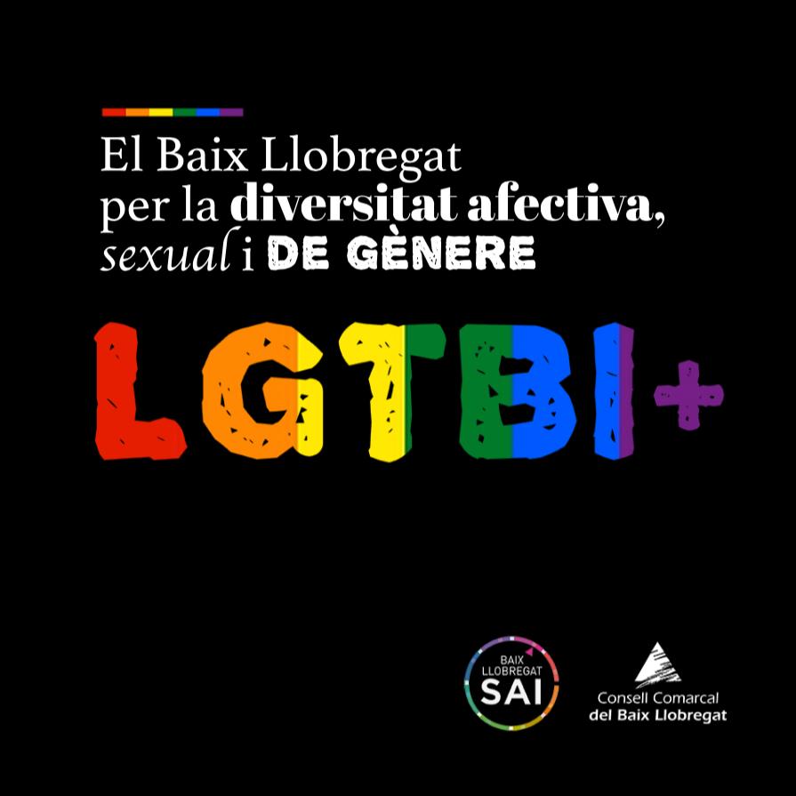 Imagen LGTBI+ Consell Comarcal Baix Llobregat