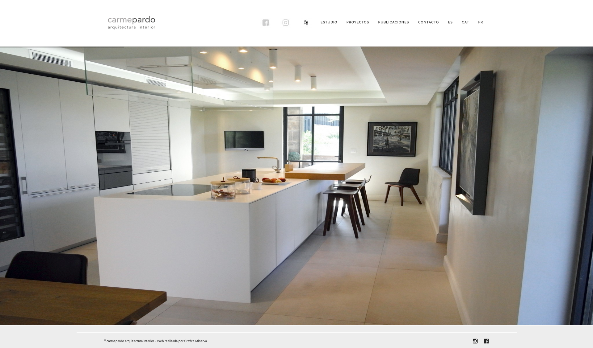 Web Carme Pardo arquitectes