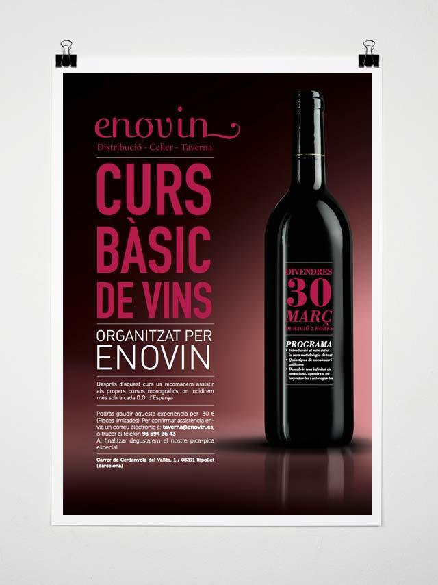 Cartel Curs Vins