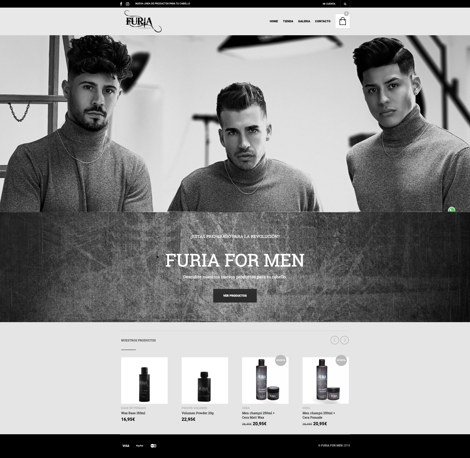 Web Furia For Men
