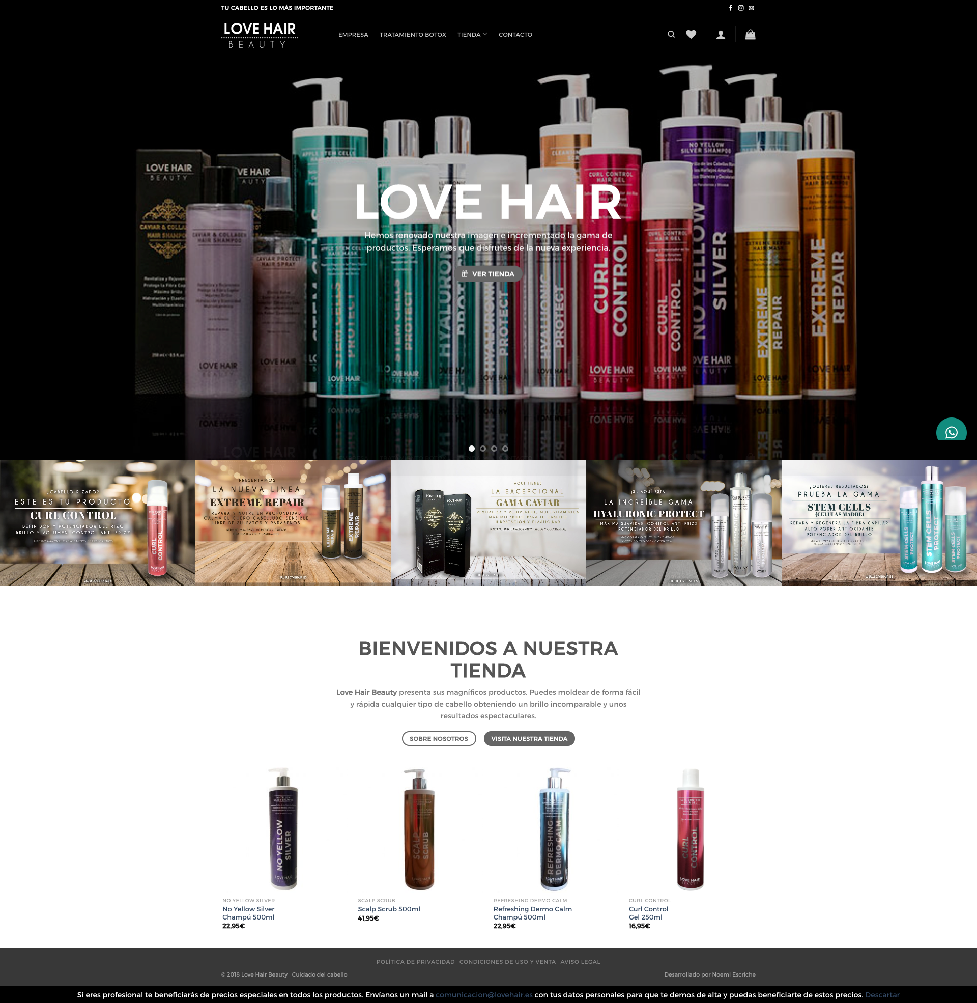 Web LoveHair