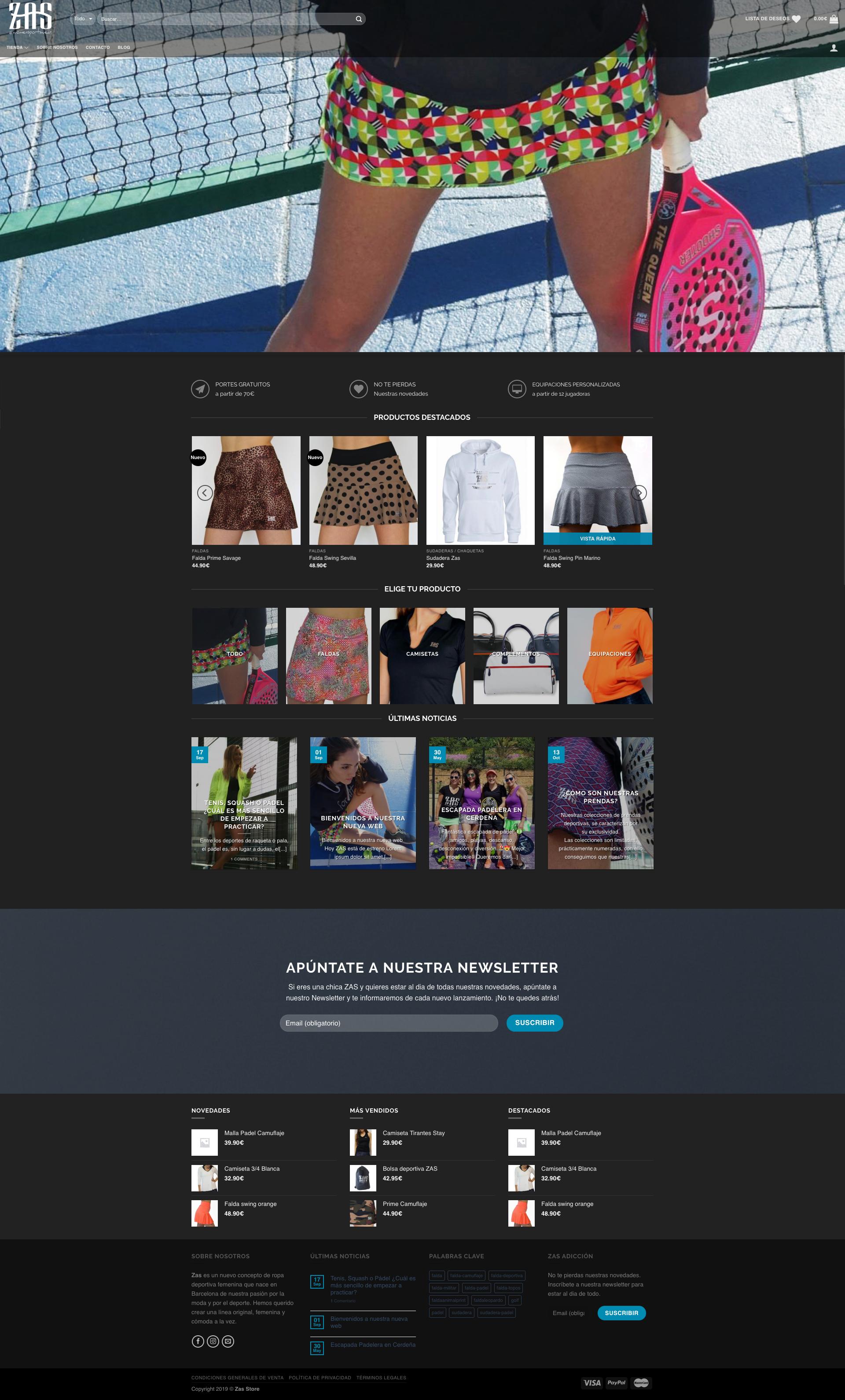 Web Zasstore