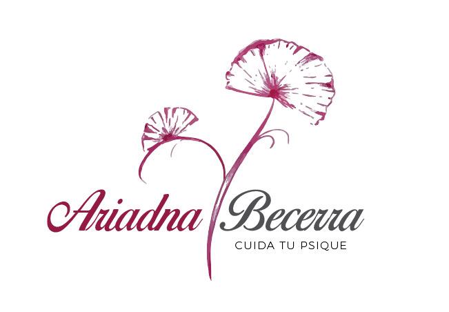 Logo Ariadna Becerra // Cuida Tu Psique